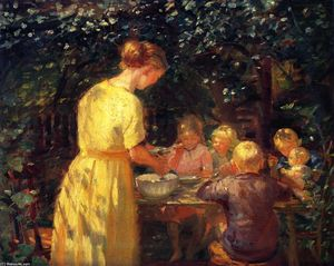 Anna-Ancher-Midday-Meal-in-the-Garden-S