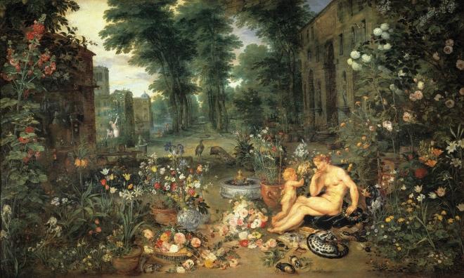 El Olfato de Rubens, Pedro Pablo; Brueghel el Viejo, Jan (1617-1618)