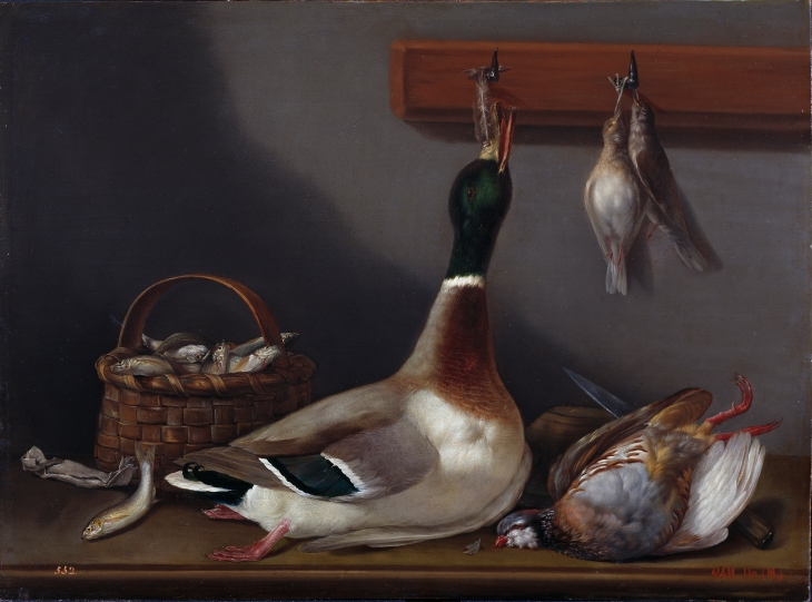 Naturaleza muerta (Bartolomé Montalvo, 1790 - 1820)