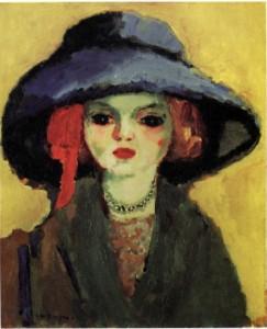 Retrato de Dolly (Kees van Dongen, 1911)