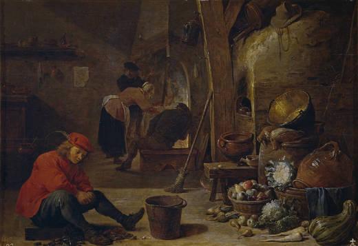 La Cocina (David Teniers,1643)