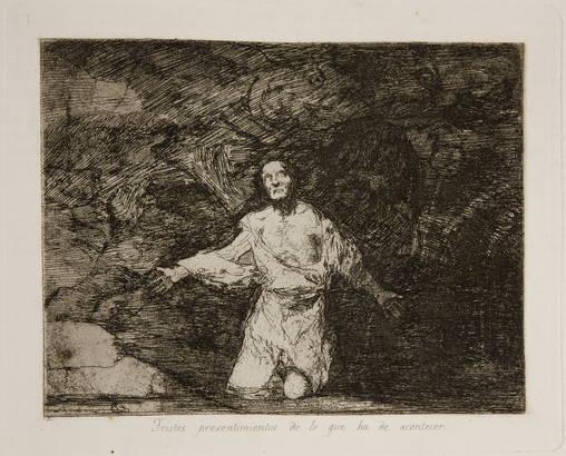 Tristes presentimientos de lo que ha de acontecer (Francisco de Goya, 1814-1815)