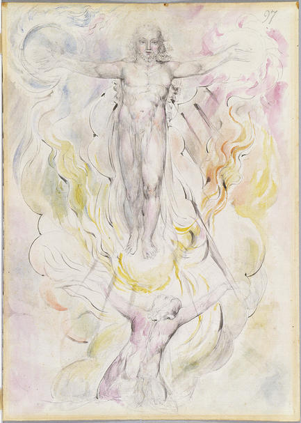Dante adorando a Cristo