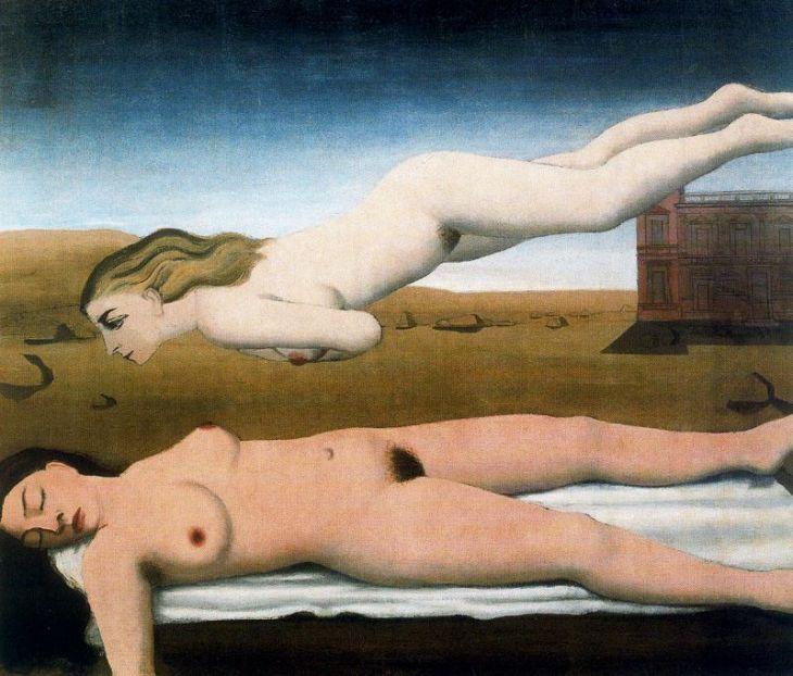 Sueño (Paul Delvaux, 1935)