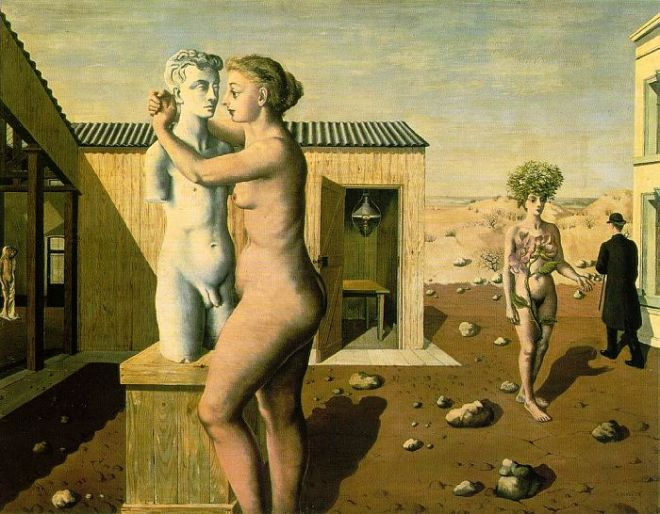 Pygmalion (Paul Delvaux, 1939)