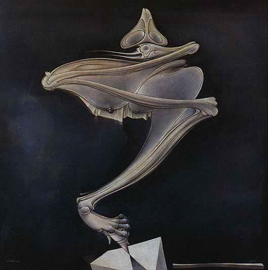 The Spinning Top (Hans Bellmer, 1937-1956)