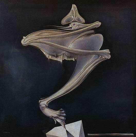 The Spinning Top (Hans Bellmer, 1937-1956)