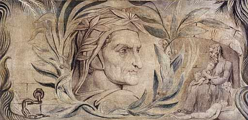 William Blake: Retrato de Dante (1801)