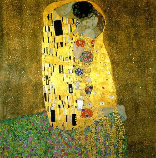 El beso (Gustav Klimt, 1907-1908)