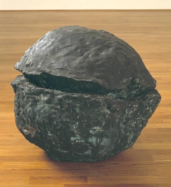Naturaleza de bronce (Lucio Fontana, 1959-1960),