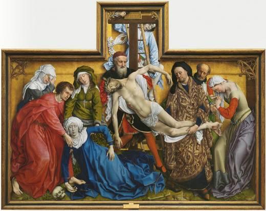 El Descendimiento (Rogier van der Weyden, 1435)