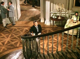 Gone-with-the-Wind-Rhett-Butler-bottom-of-stairs