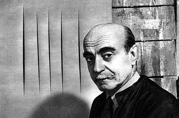 Lucio Fontana (Rosario de Santa Fe, Argentina, 1899 - Varese, Italia, 1968)