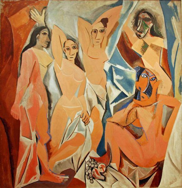 MOMA Pablo Picasso Les Demoiselles d'Avignon