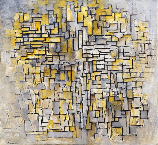 Tableau No. 2:Composition No. VII de Piet Mondrian en el Guggenheim de Nueva York