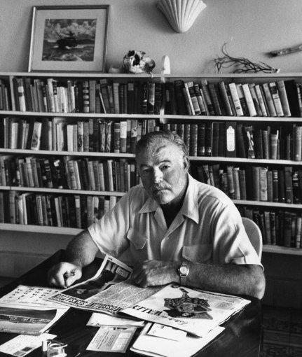 Hemingway, de libro