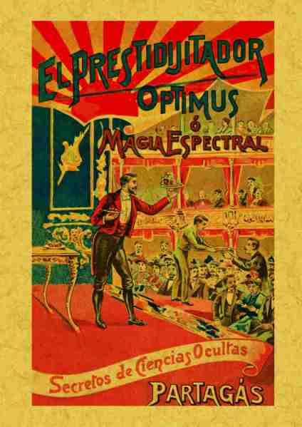 El Prestidigitador Optimus o Magia Espectral - Joaquín Partagás