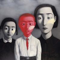 Zhang Xiaogang y «Una gran familia»
