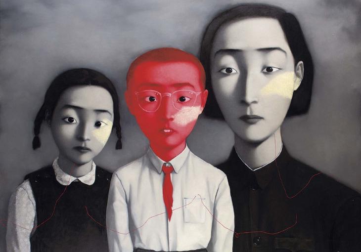 Zhang Xiaogang y «Una granfamilia»